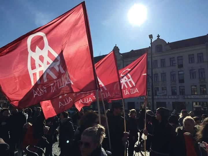 Förbundet Allt Åt Alla demonstrerar