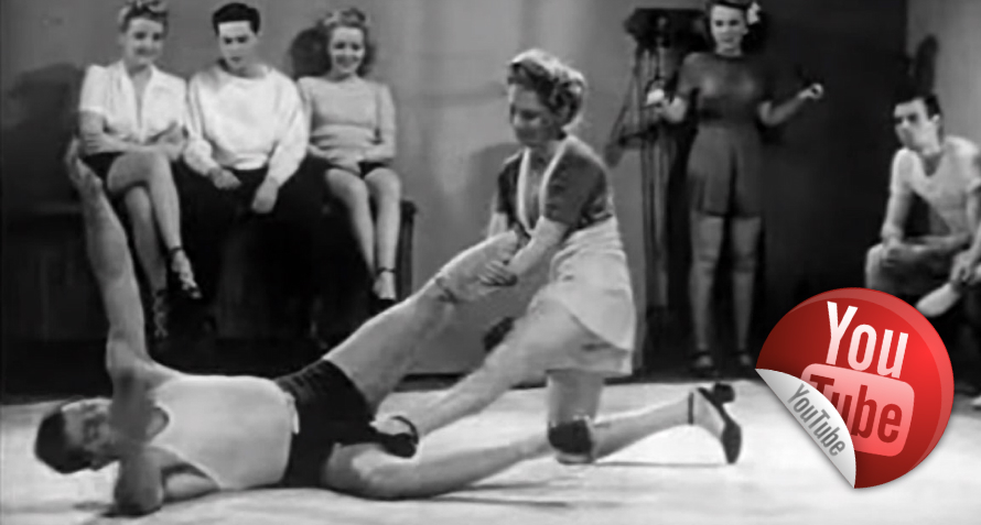 Woman-Self-defense-in-1947