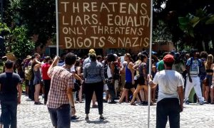 """Truth only threatens liars, equality only threatens bigots and nazis"""
