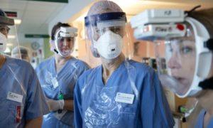 Sjuksköterskor - Pressbild Danderyds sjukhus