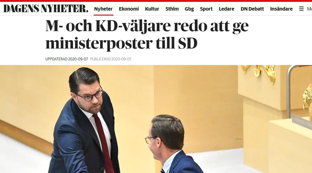 Faksimil Dagens Nyheter